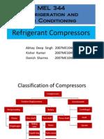 MEL344 Compressors Presentation