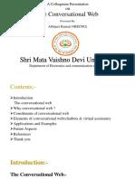 A Colloquium Presentation