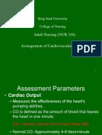 Assessment of Cvs