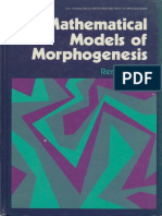 Mathematical Models of Morphogenesis