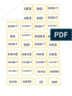 Auxiliary Verbs Pieces
