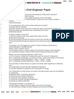 ECIL GET Civil Engineer Paper
