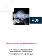 Atividade 1 - DADOS HISTóRICOS DO EMPREENDEDORISMO