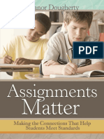 Assignments Matter Making the Connections Tha