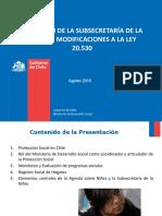 Subsecretaría Niñez - Inversión Infancia