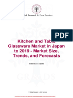 Kitchen and Table Glassware Market in Japan to 2019 - Market Size, Trends, And Forecasts
