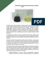 Tratamiento Para La Eliminación Del Color en Aguas Residuales de La Industria Textil