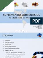 6 Suplementos Alimenticios Situacion en Las Americas