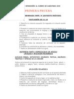 Criterios Opo 2015