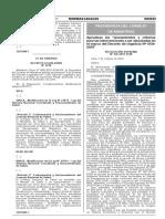 RS 236-2015- PCM- Lineamientos Procedimientos DU04