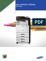 Samsung Multixpress c9201na Color Mfd