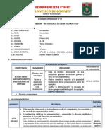 SESION 09 - 1° MAT - VI UNID - FBC