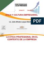 Semana 07b - La Ética Profesional en El Contexto de La Empresa