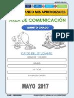 COMUNICACION 5° MAYO