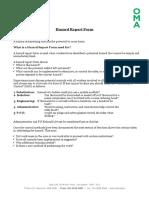 300230290 Hazard Report Form