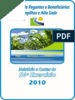 ARBCAS_Relatorio Associacao de Regantes - 2010