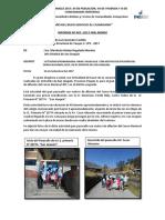 Informe de Pasacalle y Difusion Censal de San Joaquin