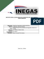 Tarea 2 - Ánalisis Proyecto de Ley SST Rev.1