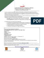Primera Circular VI Jornadas Internacionales de Investigación y Prácticas  en Didáctica de las lenguas y las literaturas