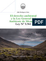 ARS_El Derecho Ambiental en La Ley General Del Ambiente de Mendoza 5961