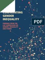 2015 LSE Confronting Gender Equality