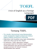 TOEFL Made Sujana