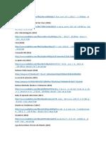 Lista de Peliculas