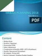 Hrd Planning 2018