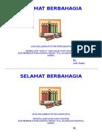 SELAMAT BERBAHAGIA