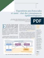 INRS 2011 Exposiciones Psicosociales y Salud Revisión Epidemiológica