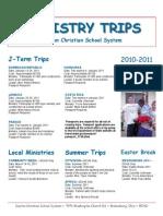 Mission Flyer 2010-2011
