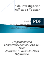 Preparation and Characterization of Head-To-Head Polymers. 5. Head-To-Head Polystyrene.