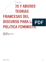 TeoríaFrancesa Feminismo.fraser