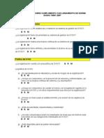 Cuestionario OHSAS