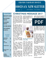 Diocesan Newsletter (November - December 2017)