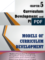 Chapter 5 Curriculum Development and Planning