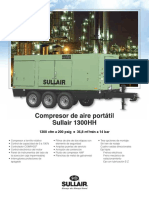 SullAir Compresor 1300HH Ficha