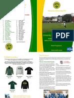 VUWAFC Programme 2015-1