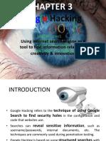 3 Google Hacking