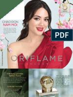 Catalogue My Pham Oriflame 1-2018