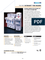 Ultra Safe Fuse Holders Us14-Us22 Portafusible