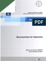 INFORME FINAL 856-17 MUNICIPALIDAD DE VALPARAÍSO SOBRE AUDITORÍA AL MACROPROCESO DE CONCESIÓN DEL SERVICIO DE ASEO - DICIEMBRE 2017.pdf
