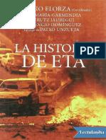 La Historia de ETA - Antonio Elorza Coordinador