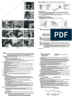 QUAD QHD-7 Instruction Leaflet