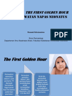 Penerapan the First Golden Hour Revisi