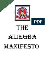 The Aliegba Manifesto_cover