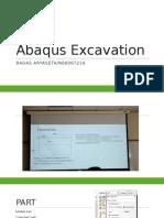 Simple Excavation Problem ABAQUS