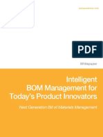 Intelligent Bom Management for Todays Product Innovations