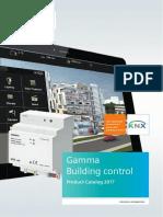 GAMMA Productcatalog en 2017