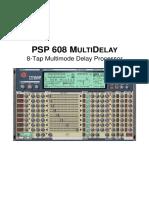 PSP 608 MultiDelay Operation Manual